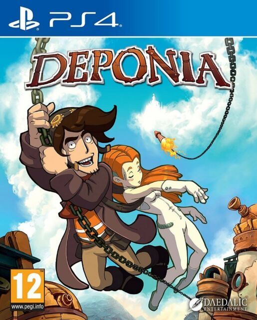 jeu DEPONIA pour PLAYSTATION 4 en francais PS4 game spiel juego gioco NEUF / NEW
