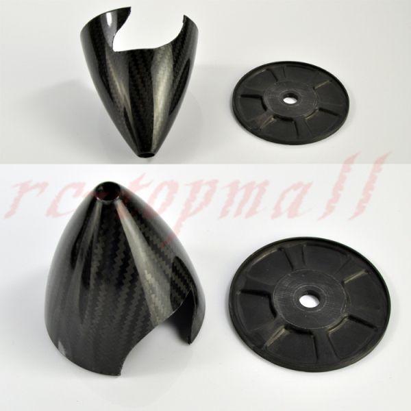 6 6 6     152.40 mm in Fibra di autobonio Prop Spinner PER GAS RC piani con due lame ec7598