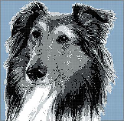 Sheltie Afghan Crochet Graph Dog Pattern PDF By Alta's Crafts