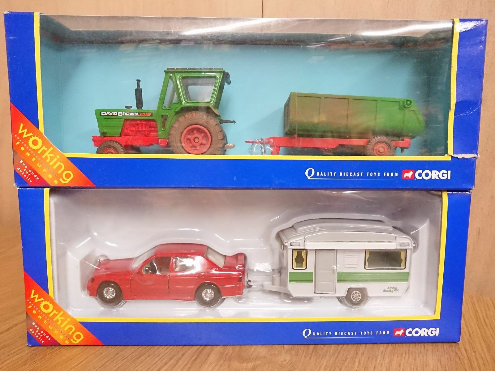 Corgi diecast 2 x Sets 60030 & 59102 Vehicles & Trailers Bargain