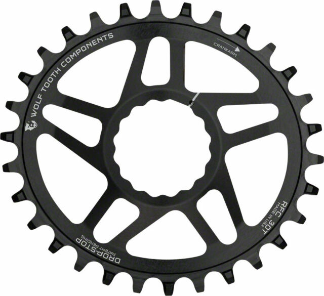 Wolf Tooth Components PowerTrac Drop-Stop Chainring 38T for RaceFace Cinch