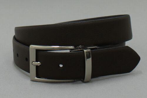 Brown nWT Merona Goodfellow Mens Pebbled Faux Leather Reversible Belt Black