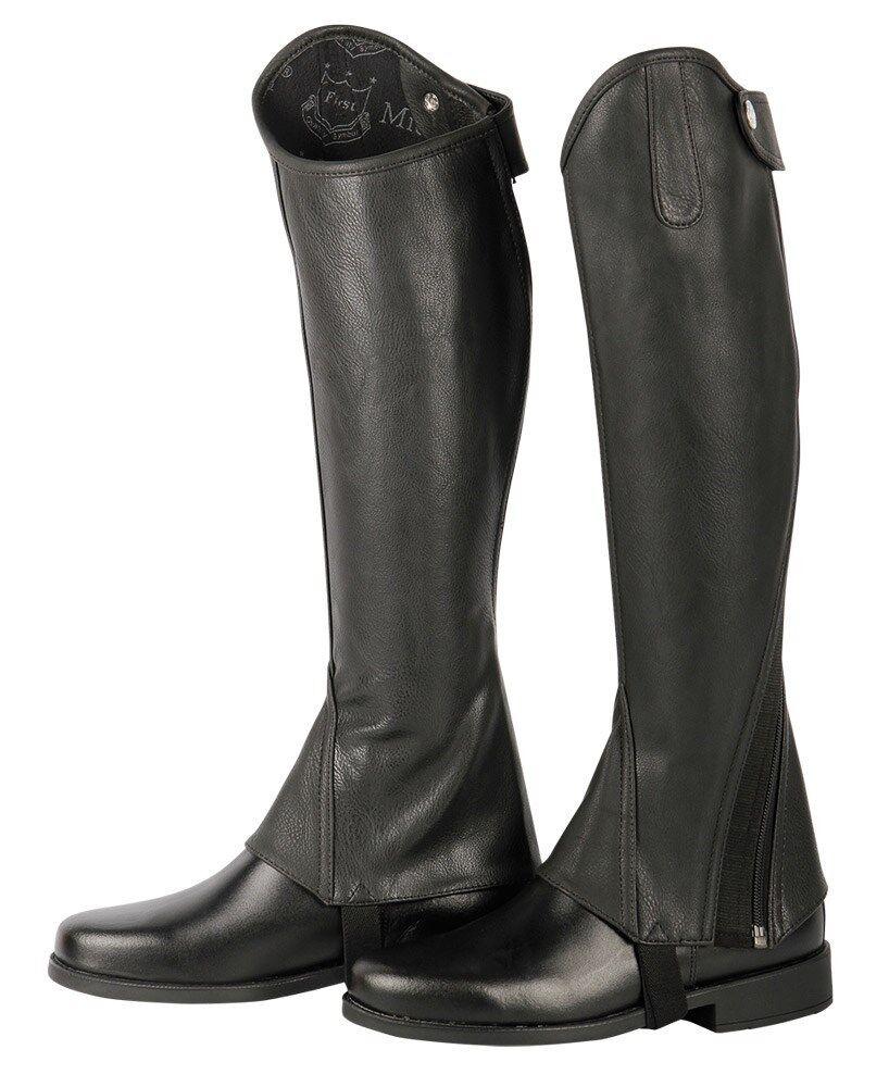 Harry's Horse Luxus Stiefelschaft Minichaps black black Drehreißverschluss