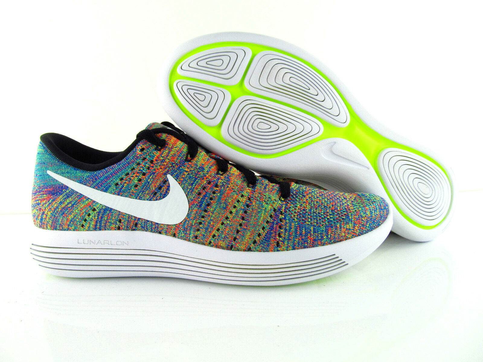 Nike Lunarepic Low UK_6 Flyknit Multicolor Running Us_7 UK_6 Low  Eur_40 207759
