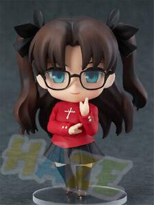 Nendoroid-Fate-stay-Night-Tohsaka-Rin-Q-Ver-figura-de-Accion-Juguetes-Munecos-10cm-PVC
