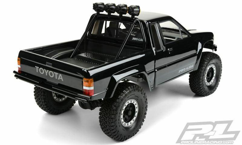 Proline Racing - 1985 giocattoloota HiLux SR5 chiaro corpo (Cab & Bed) for SCX10