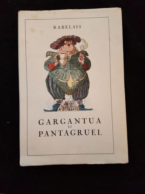 Buch Gargantua et Pantagruel von Francois Rabelais frz. Ausgabe 1952