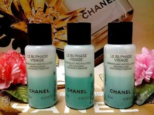 SALE-Chanel-Le-Bi-Phase-Visage-Face-Makeup-Remover-10MLX3-NEW-034-POST-FREE-034