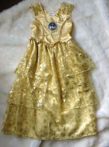Disney Beauty and the Beast/'s Live Action Film Belle Costume for Kids Size 5//6