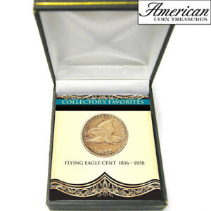 Coin-Collectors-1856-1858-Flying-Eagle-Cent-Free-Shipping-Authenticity-Cert