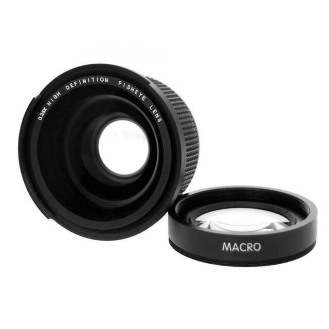 58mm 0.35x DG Weitwinkel Objektiv Mit Makro für 1100d 700d 650d 600d 60d 2r7