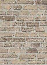 Vlies Tapete Erismann BRIX Unlimited 6939-20 Stein Optik Steinmauer Beige Grau