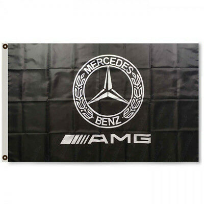 3X5Ft Mercedes Benz AMG For Motors Banner Car Racing Flag Polyester #096