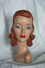 mannequin head vintage