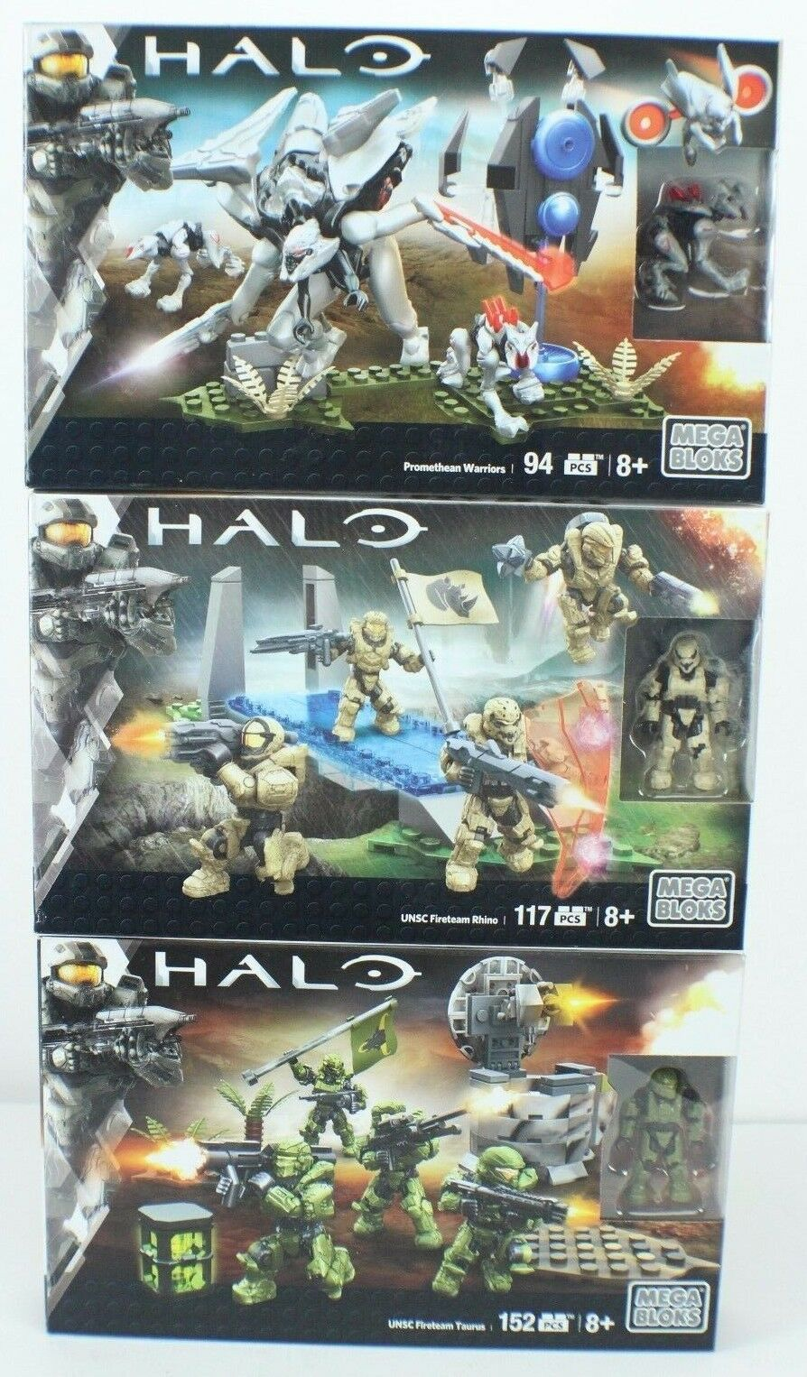 Mega Bloks: Halo Mega Construx  Bundle  NEW