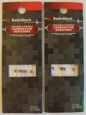 NIP RadioShack Resistors Various sizes to choose from 1//8W thru 1W