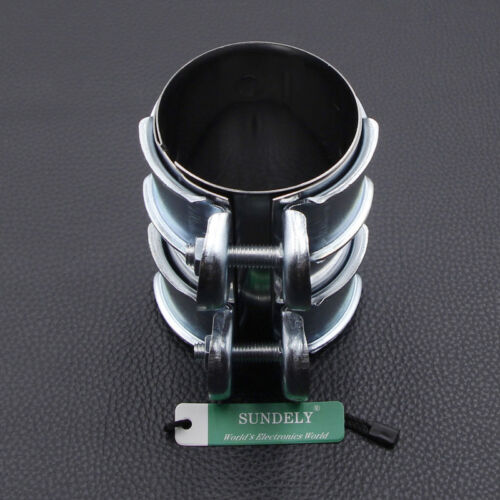 "2.5/""//66mm Stainless Exhaust Adapter Sleeve Pipe Repair Connector"