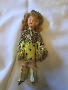 Vintage Marcie Skating Doll With Open And Close Eyes