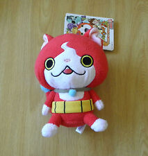 Red Cat Jibanyan --- plush toy of Japanese TV anime / Doudou du chat rouge