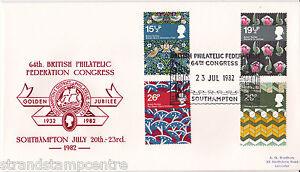 1982 Textiles - BPF Congress Official (Red Version - No cachet)