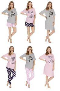 Donna Maternità Nightwear gamma ~ camicie da notte, pigiami, Pigiama Corto