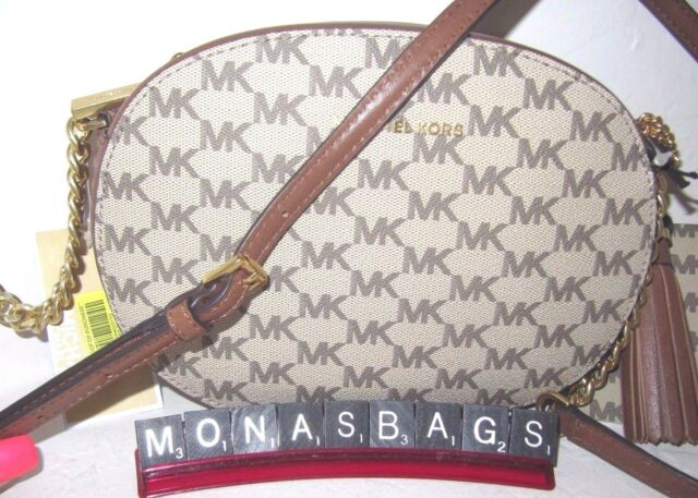Details about Michael Kors Bag Ginny Md Messenger Signature