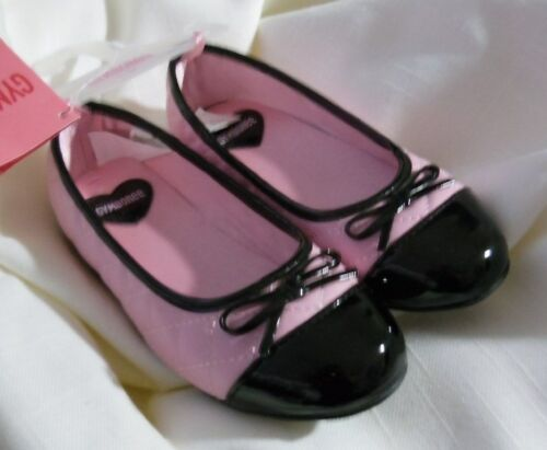 Cute! Cute Gymboree TRES CHIC Black /& Pink Quilted Shoes NWT 10 1 2 Cute