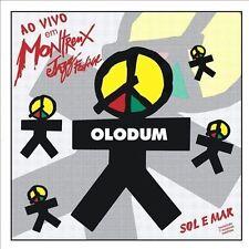 Sol E Mar Olodum Ao Vivo Em Montr by Olodum Banda Ex-library - Disc Only No Case