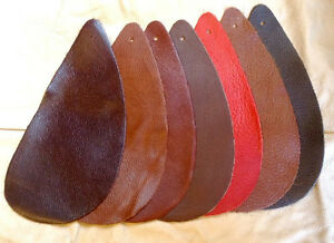 2RMNT Leather Cow Hide Cowhide Craft Fabric Pieces Great for your Small Crafts