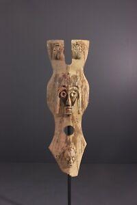 MASQUE-IJO-AFRICAN-ART-AFRICAIN-PRIMITIF-ARTE-AFRICANA-AFRIKANISCHE-KUNST