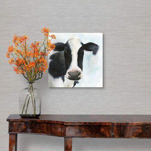 Farmhouse Friend II Canvas Wall Art Print Cow Home Decor