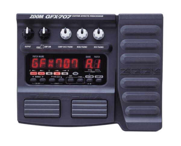 zoom gfx 707 multi effects guitar effect pedal for sale online ebay. Black Bedroom Furniture Sets. Home Design Ideas