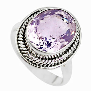 Faceted-Natural-Lavender-Amethyst-925-Silver-Solitaire-Ring-Size-7-P41763