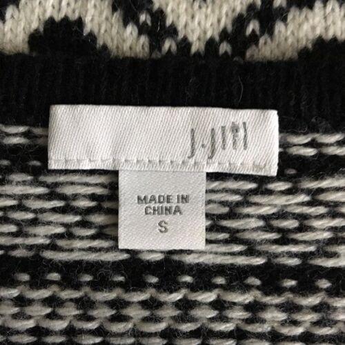 noir S mélangée laine J et en Jill Pull blanc PaH6f