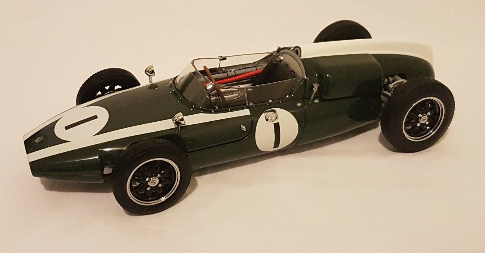 Schuco 450034000 Cooper T53 coche 1 Jack Brabham 2018 campeón mundial F1