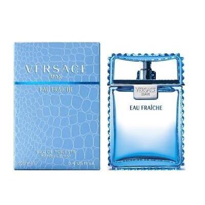 Versace Man Eau Fraiche by Gianni Versace 3.4 oz EDT Cologne for Men New In Box
