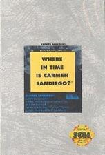 # Sega Genesis-where in time is Carmen Sandiego-Top/Mega Drive juego #