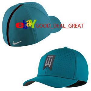 2018 Nike Tiger Woods TW Striped Golf Hat Cap 845579-467 Size M L  2f12be4a19d