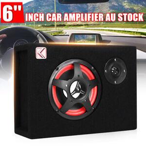 220V-12V-350W-6-039-039-Under-Seat-Car-Audio-Subwoofer-Bass-Box-Sub-Woofer-Amp-Speaker