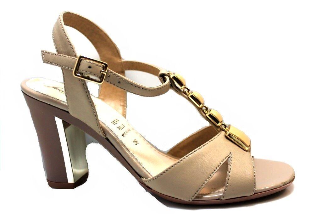 Fascino Donna 44646 Scarpe Sandali Donna Eleganti Artigianali  Made in Italy