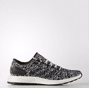 0cfed00a7ef48 Image is loading Adidas-Pure-BOOST-Oreo-Black-White-BA8890-4-