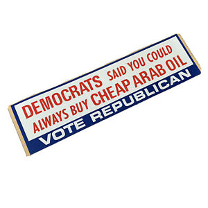 FREE Vintage NEW Ohio Voting Sticker 2020 Politics Republican Democrat I Voted
