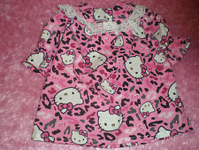 CLOTHES FOR BITTY BABY / AMERICAN GIRL  PINK LEOPARD  HELLO KITTY NIGHTGOWN