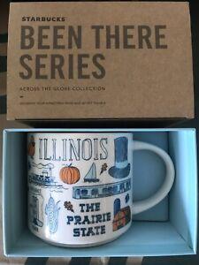Starbucks Coffee Been There Series 14oz Mug ILLINOIS Cup w/SKU
