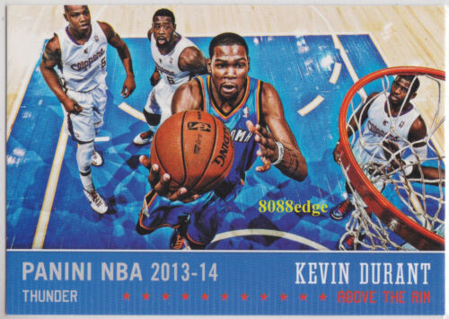 201314 HOOPS ABOVE THE RIM KEVIN DURANT #10 OKC THUNDERSWARRIORS FINALS MVP