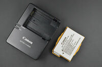 Genuine Canon Lc-e8 Battery Charger + Lp-e8 Battery Pack For Eos 550d 700d