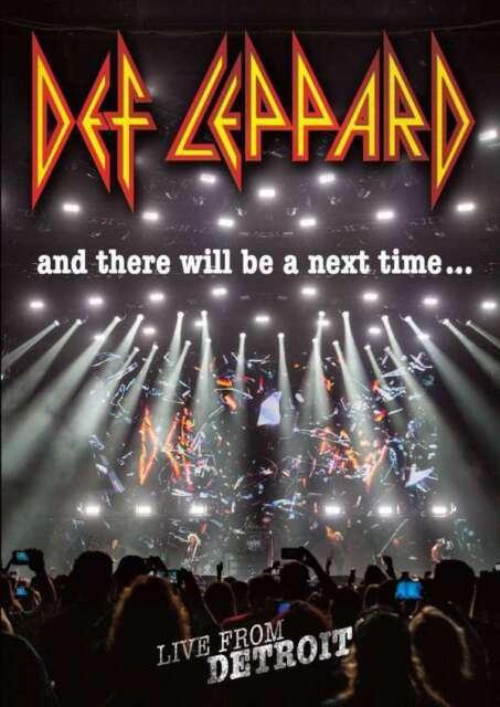Def Leppard - y There Voluntad Ser un Próximo Tiempo Live From Detroit Nuevo