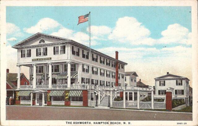 Hotel Janvrin Hampton Beach, NH Postcard