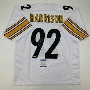 james harrison white jersey
