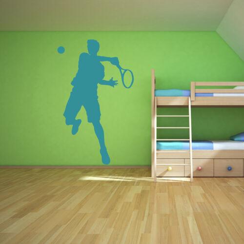 Tennisspieler Tennis Wandtattoo WS-16219